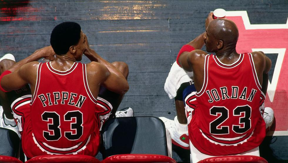 Pippen Jordan Chicago Tribune