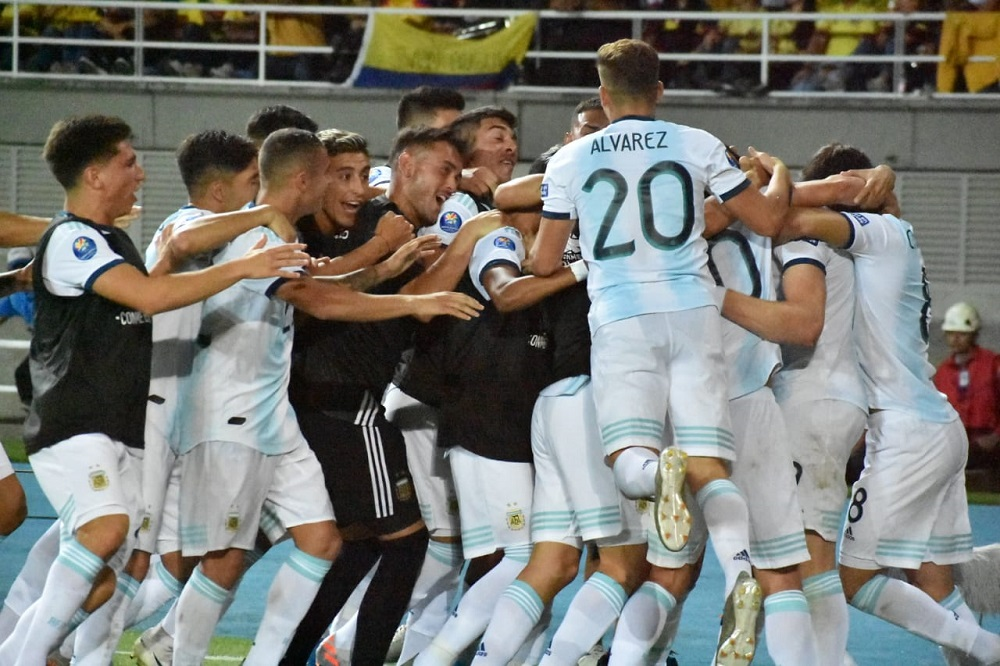 Preolímpico Sub 23: Argentina reaccionó y le ganó a Colombia