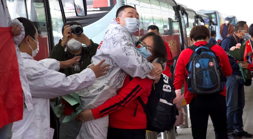 Tras 11 semanas de confinamiento, Wuhan levantó la cuarentena