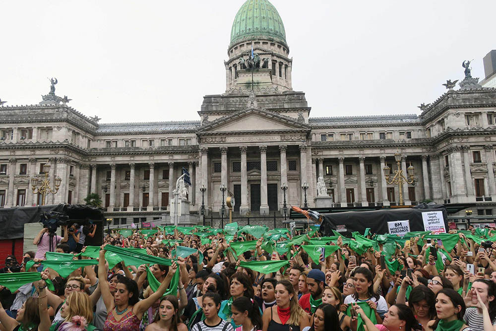 Pañuelazo aborto legal