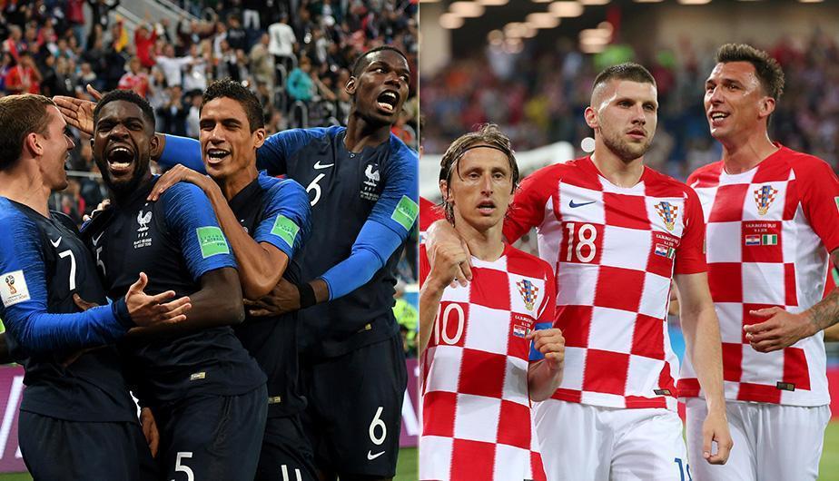 La Francia multiétnica contra la Croacia de la épica