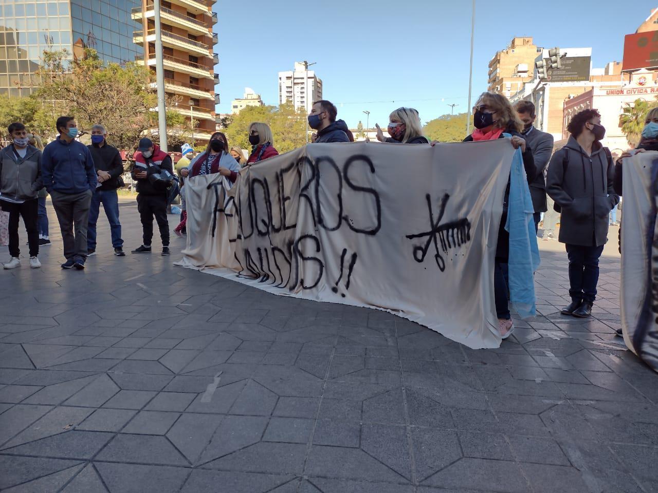 Protesta de peluqueros by LNM