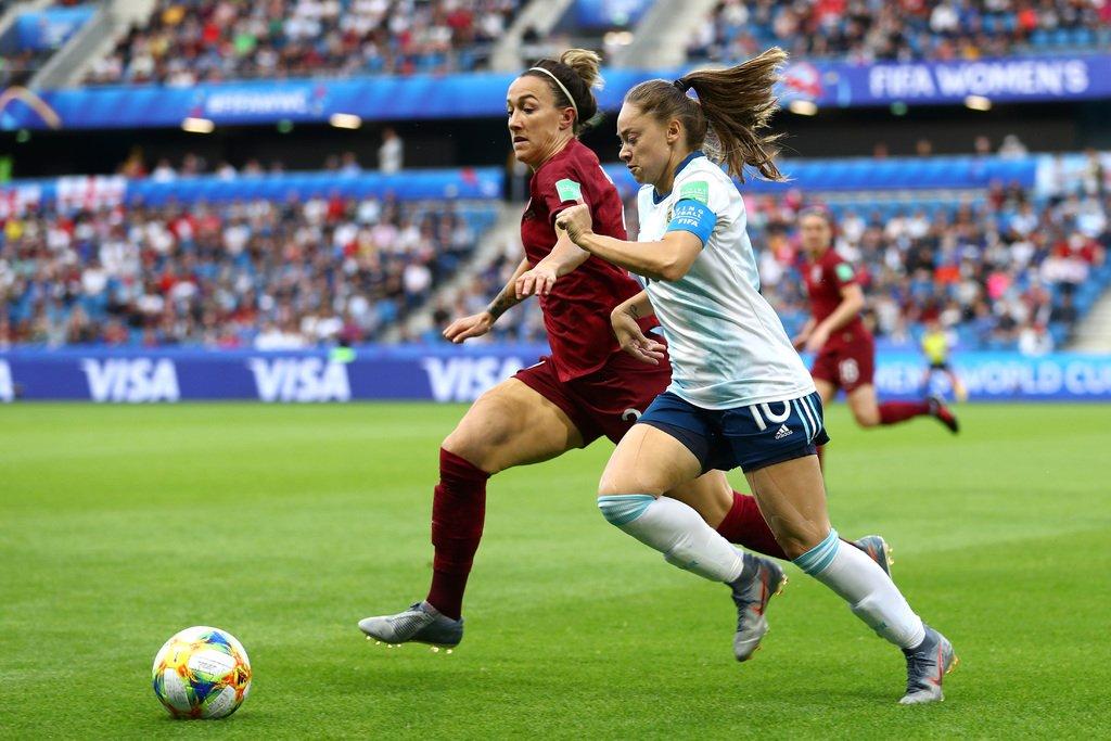 Francia 2019: Argentina perdió 1-0 ante Inglaterra