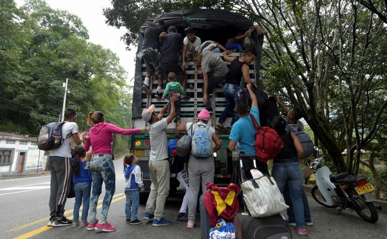 Según la ONU, tres millones de personas se fueron de Venezuela desde 2015