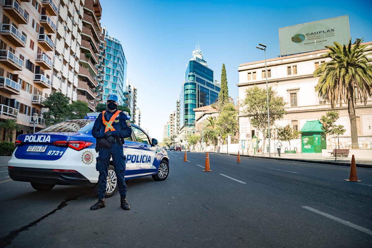 CovidCba Policía controles © 2020 Javier Imaz_083