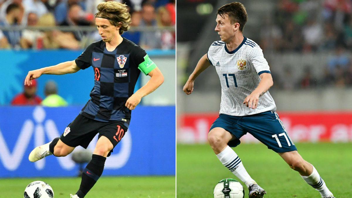 Rusia 2018: qué partidos de cuartos de final se juegan este sábado