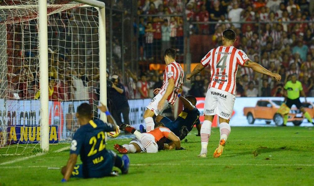 Boca mandó al descenso a San Martín y se metió en la Libertadores 2020