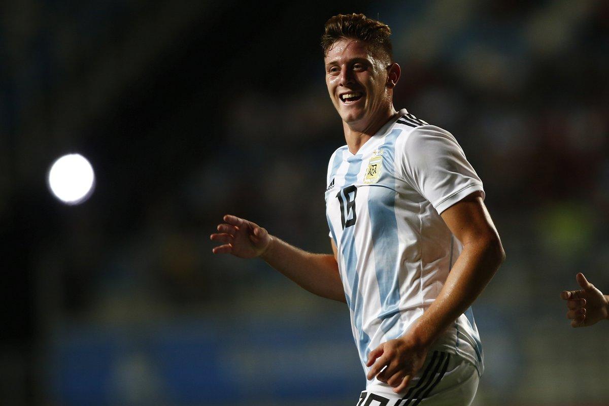 Sub 20: Con tres goles del cordobés Gaich ganó Argentina