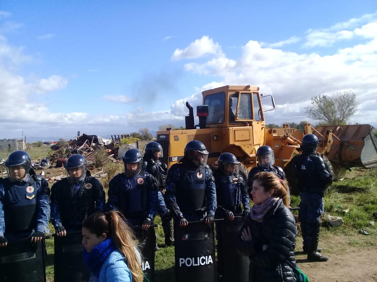 Realizarán una movilización en Juárez Celman en reclamo por el desalojo