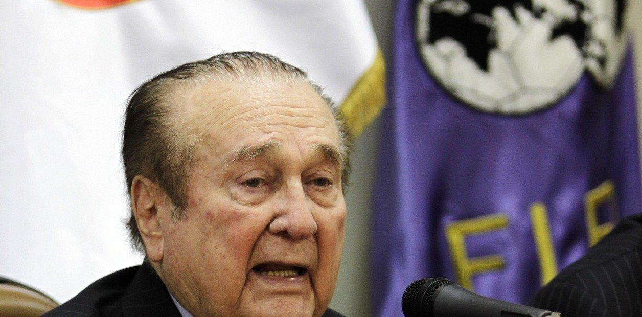 Falleció Nicolás Leoz, ex presidente de la Conmebol