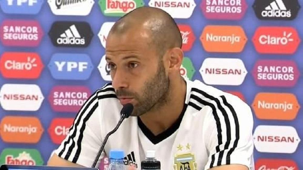 """Mascherano dice que es """"normal"""" la relación con Sampaoli"""