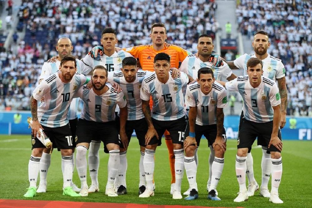 camiseta argentina armani