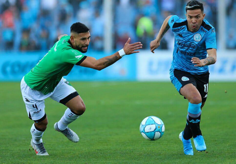 Por Pablo Vegetti, Belgrano empató en su debut ante San Martín