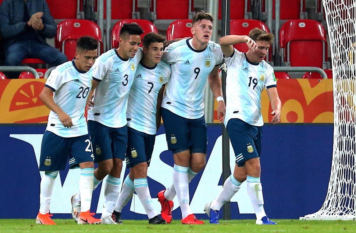 Argentina busca el primer puesto en el mundial Sub contra Corea