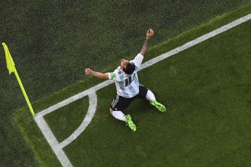 """Rusia 2018: La emoción de """"Leo"""" Messi tras la agónica clasificación"""