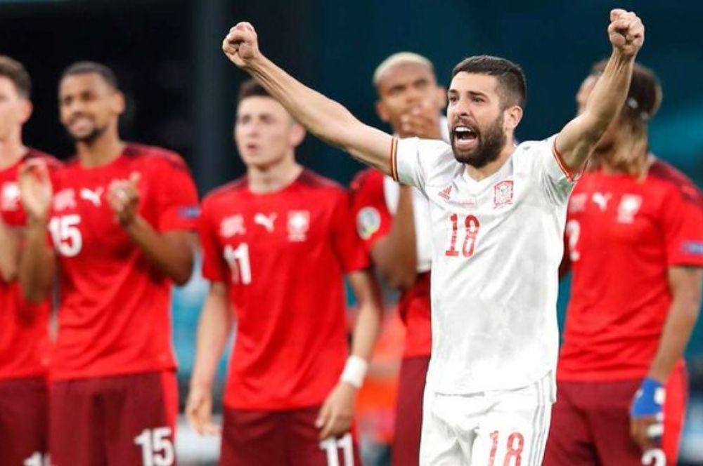 España eliminó a Suiza y se convirtió en semifinalista de la Eurocopa