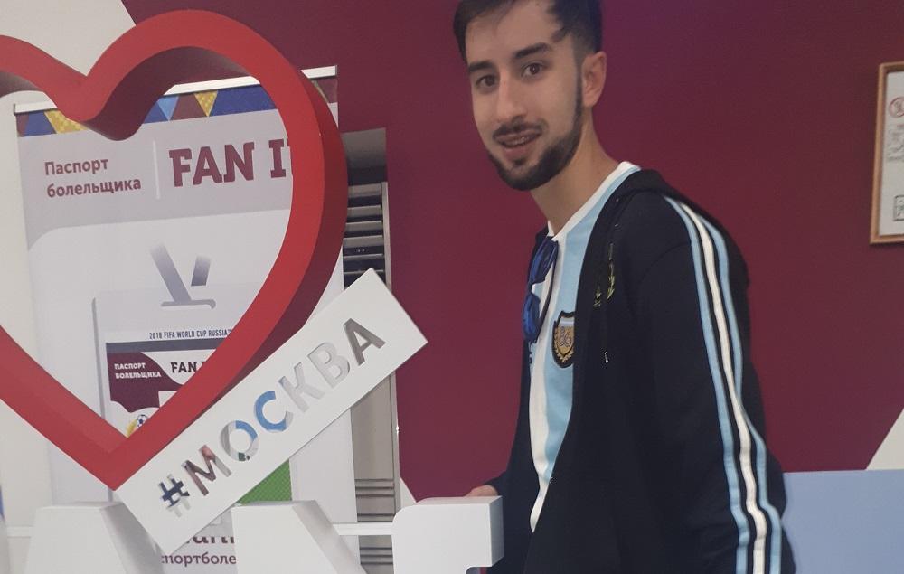 """En Rusia con Messi tatuado en su piel: """"Dolió pero me haría otro con gusto"""""""
