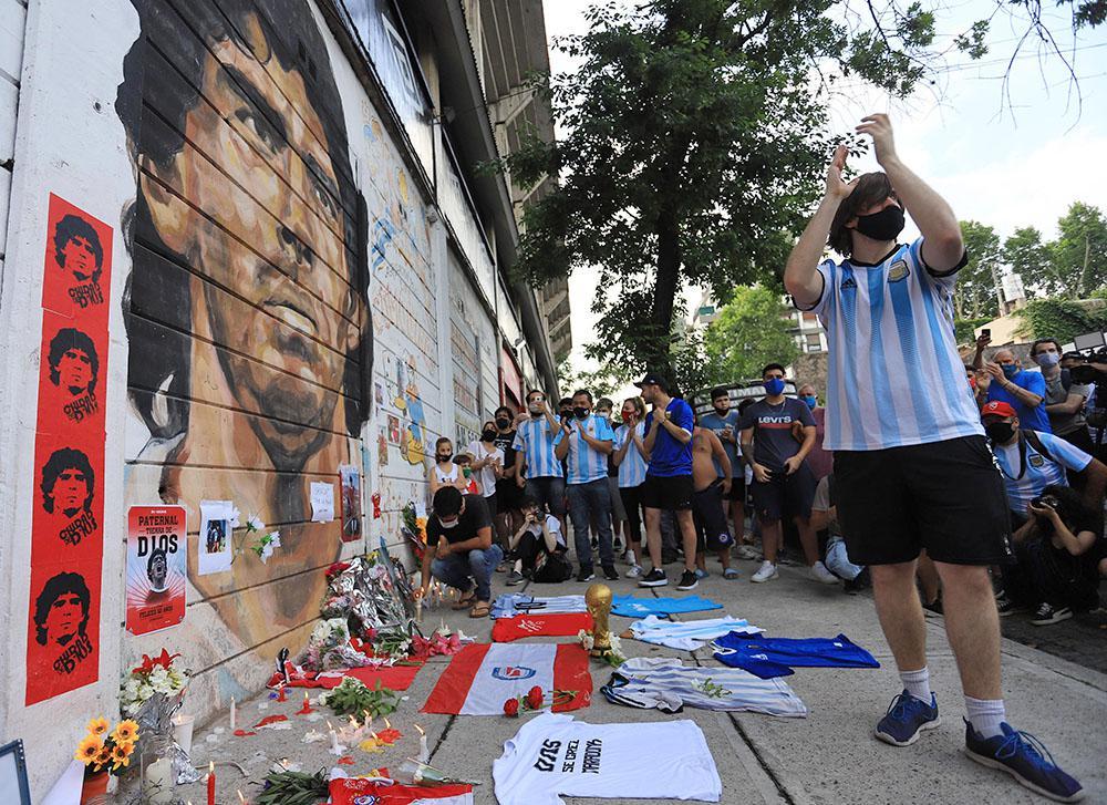 Maradona - Simpatizantes Estadio Argentinos Juniors @ NA MARCELO CAPECE