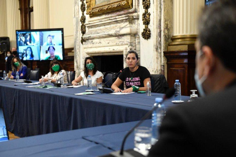 aborto Congreso by Télam