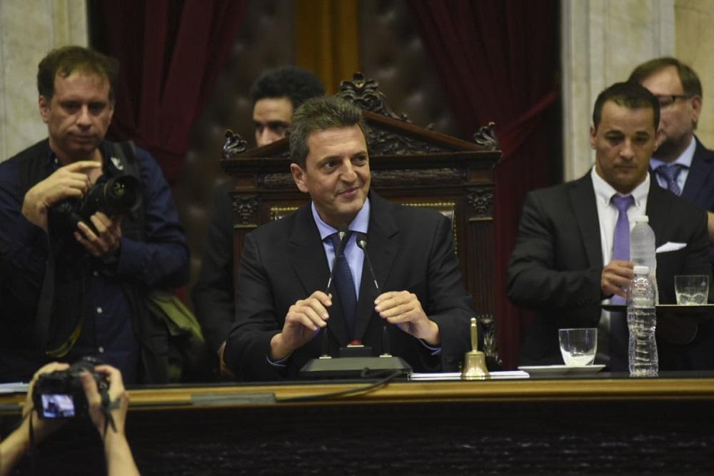 Sergio Massa será reelecto como presidente de la Cámara de Diputados