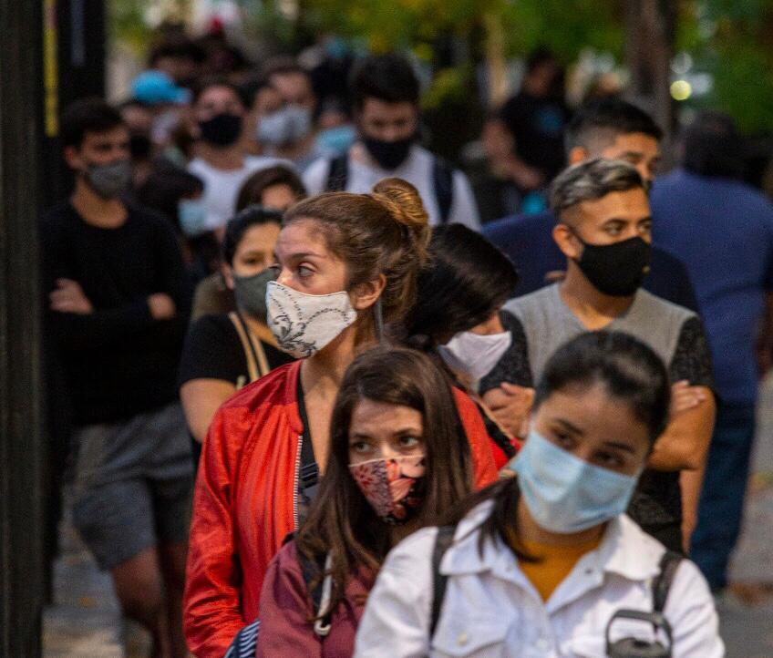 Argentina suma más de 18 mil nuevos contagios de Covid-19