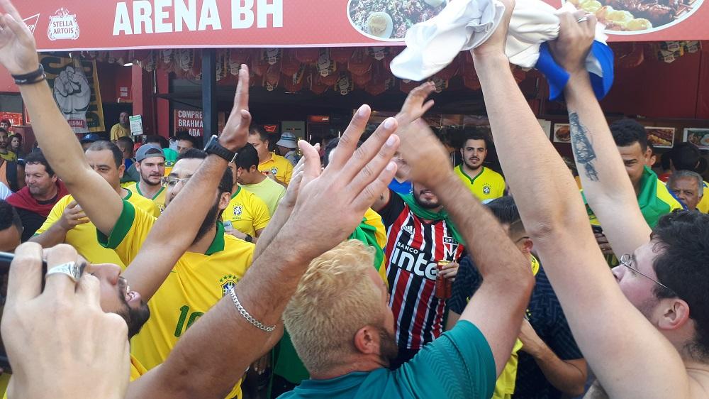 Fraternidad y color entre Brasileños y argentinos en Minerao