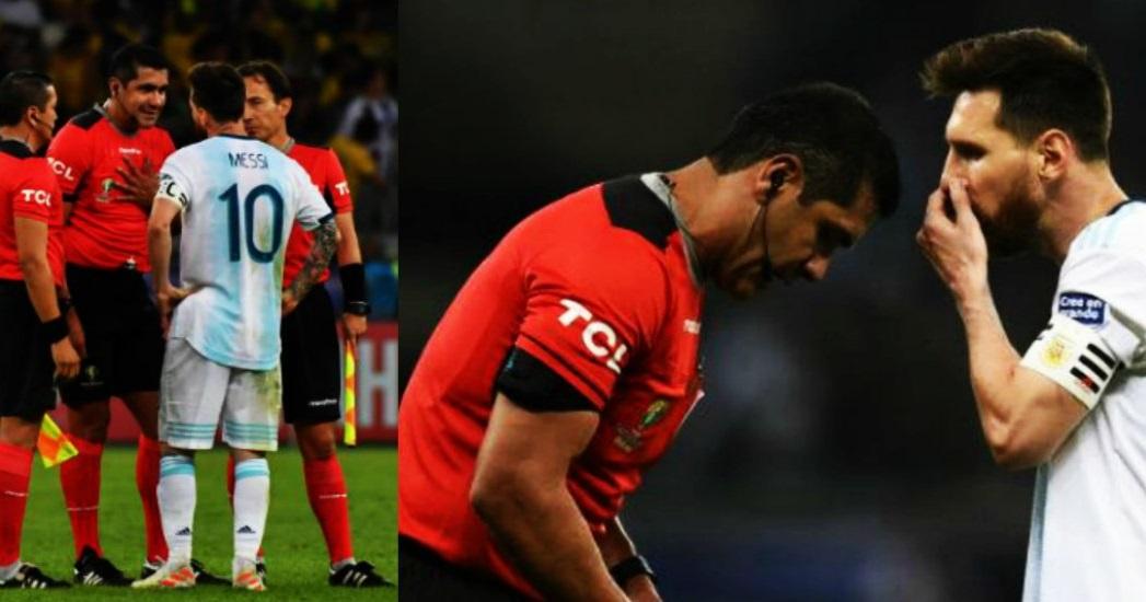 "Zambrano: ""Ni la jugada de Messi ni la de Otamendi fueron penales"""