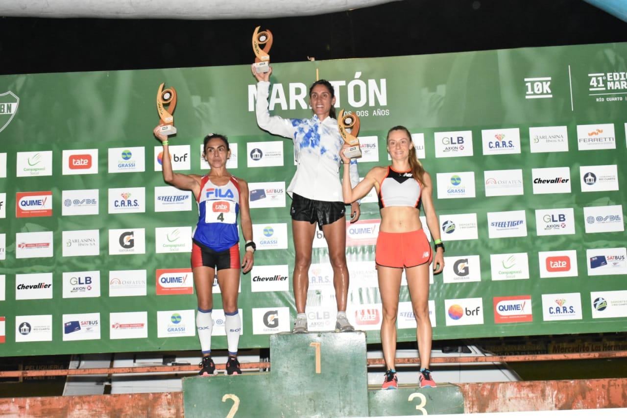 Rosa Godoy hizo historia en la Maratón de los Dos Años