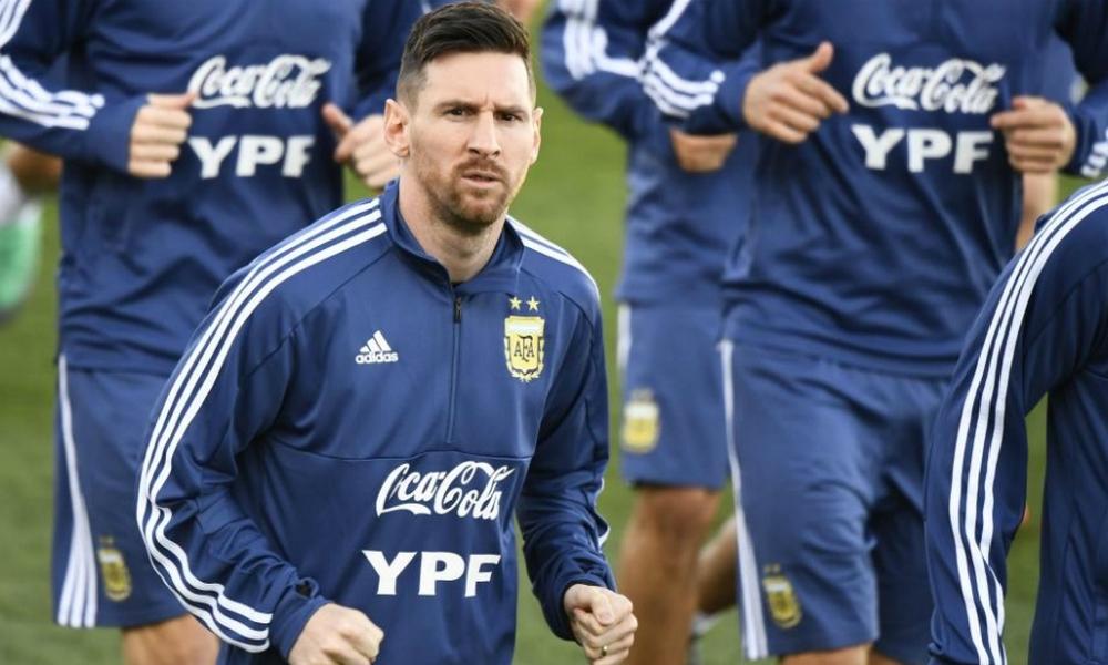 Con Messi, la Selección realizó su primer entrenamiento en Madrid