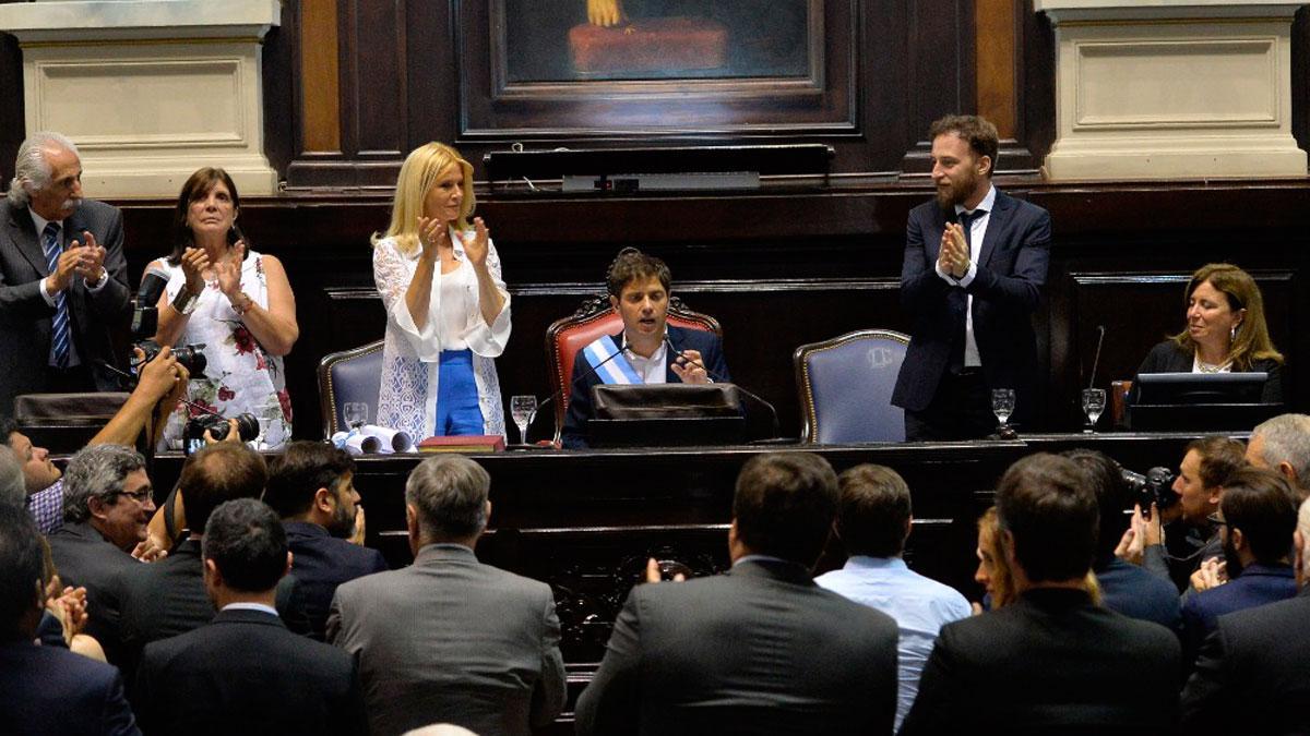 Kicillof Legislatura bonaerense