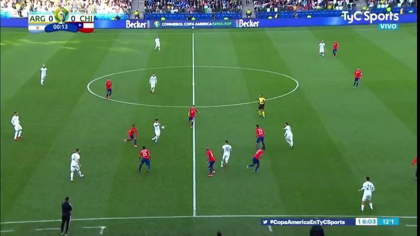 Argentina va con Chile para quedar tercero en la Copa América