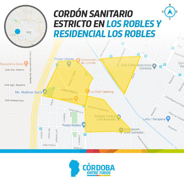 Cordon 2 prensa Gobierno de Córdoba