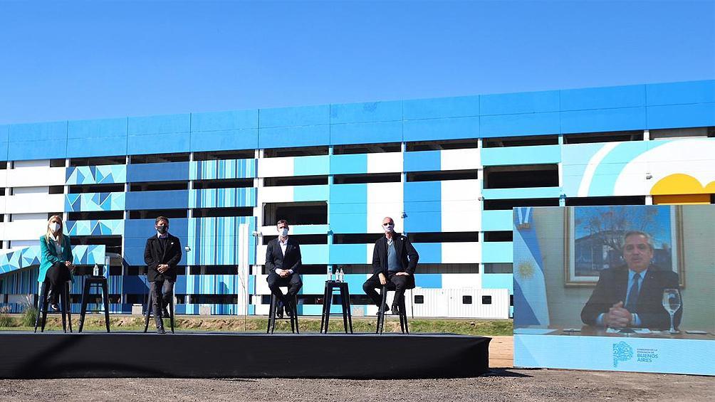 Alberto Fernandez presencia virtual acto Pcia Buenos Aires