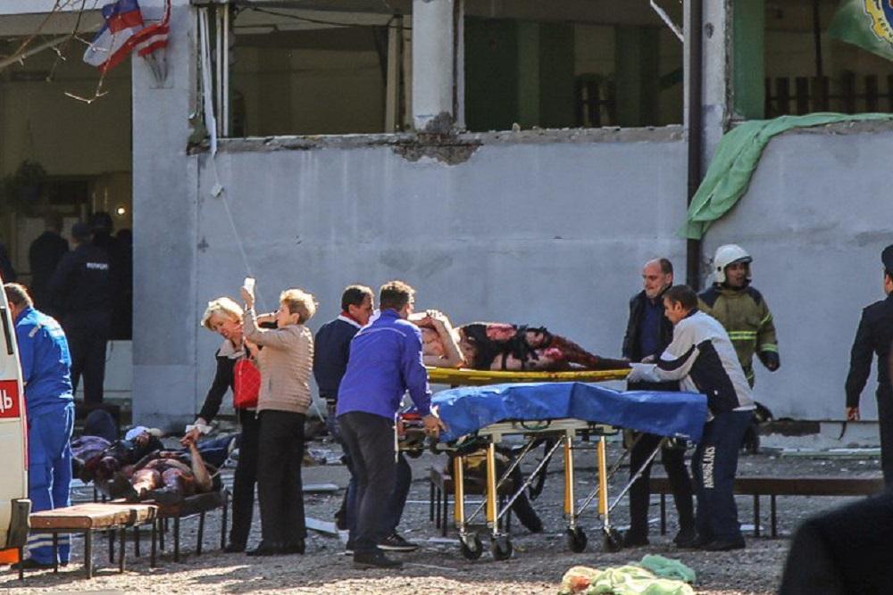 Al menos 19 muertos tras el ataque a un colegio en Crimea
