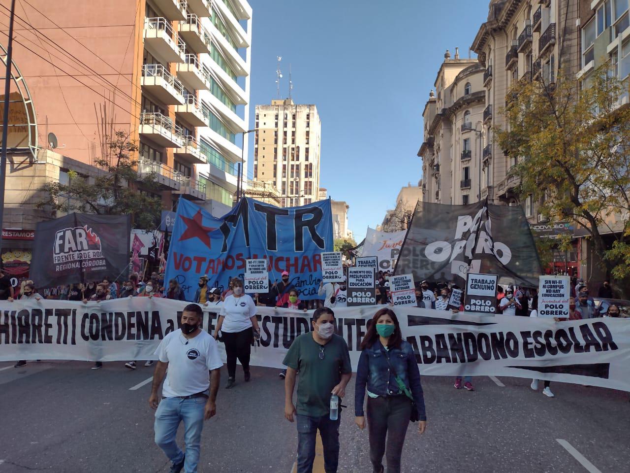 Marcha por la educación organizaciones sociales by LNM