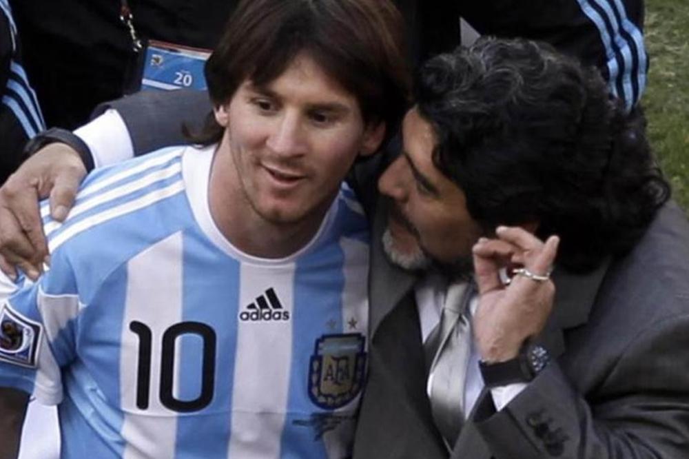 """Maradona destrozó a Messi y pidió: """"No lo endiosen más"""""""