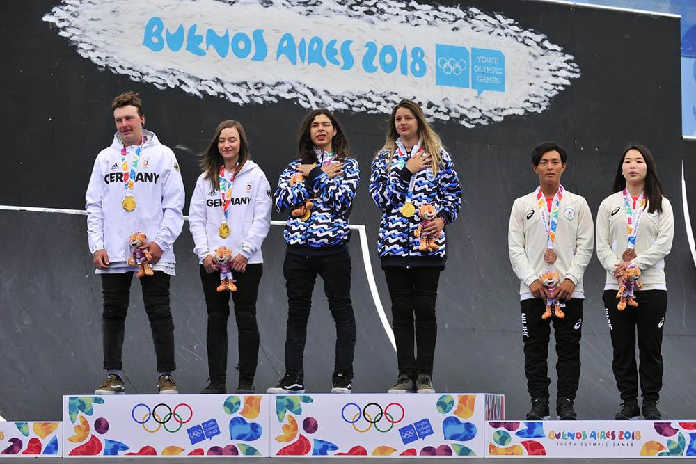 Argentina cuadruplicó la cantidad de medallas en los JJOO de la Juventud