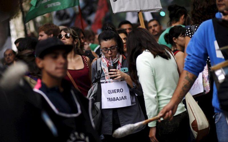 Resultado de imagen para argentina desempleo