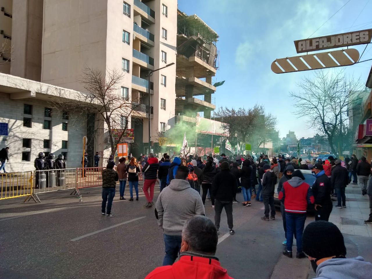 Suoem protesta por despidos by LNM
