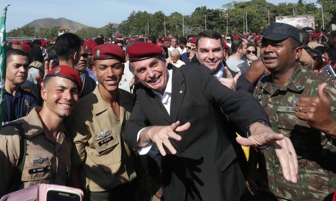 Venezuela: Bolsonaro manifestó su apoyo al intento golpista de Guaidó