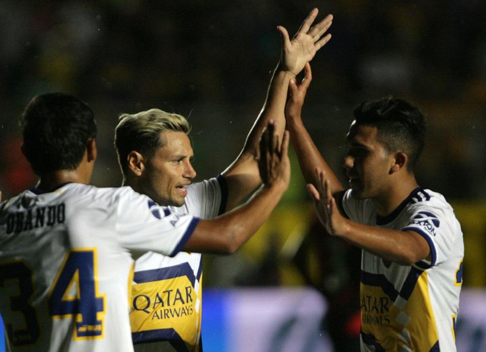 De la mano de Zárate y Reynoso, Boca le ganó a Paranaense en San Juan