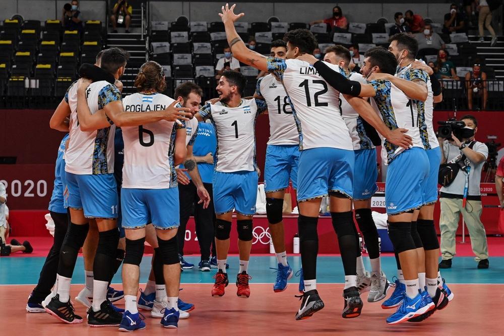 Vóley: Argentina ganó un partido clave y sigue soñando con los cuartos