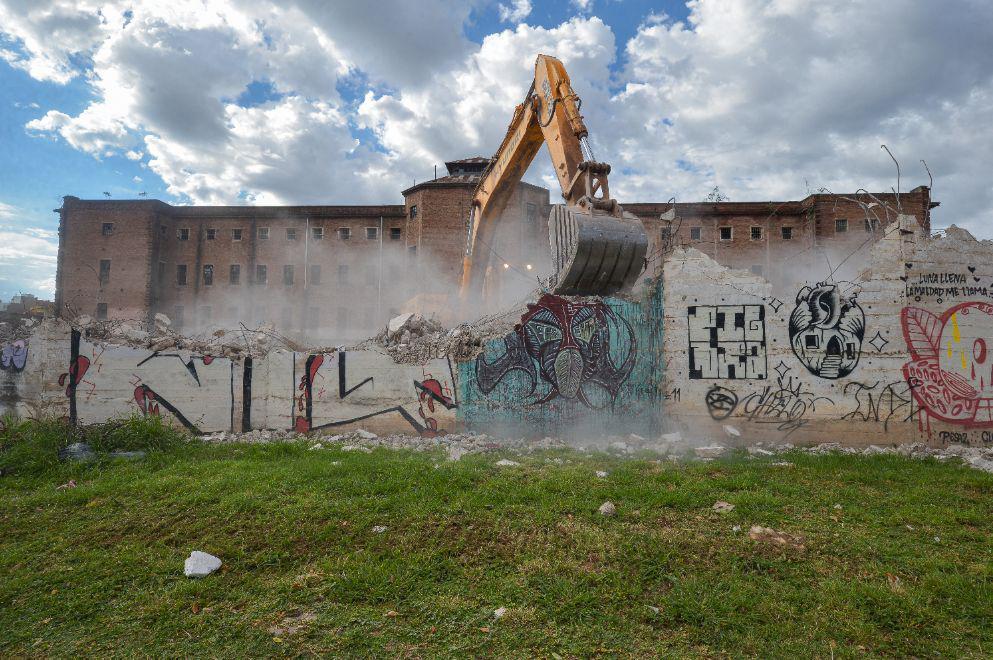 demolición ex cárcel de encausados 2