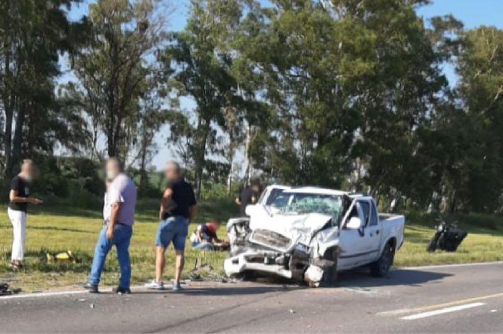 Accidente fatal FM Arroyito