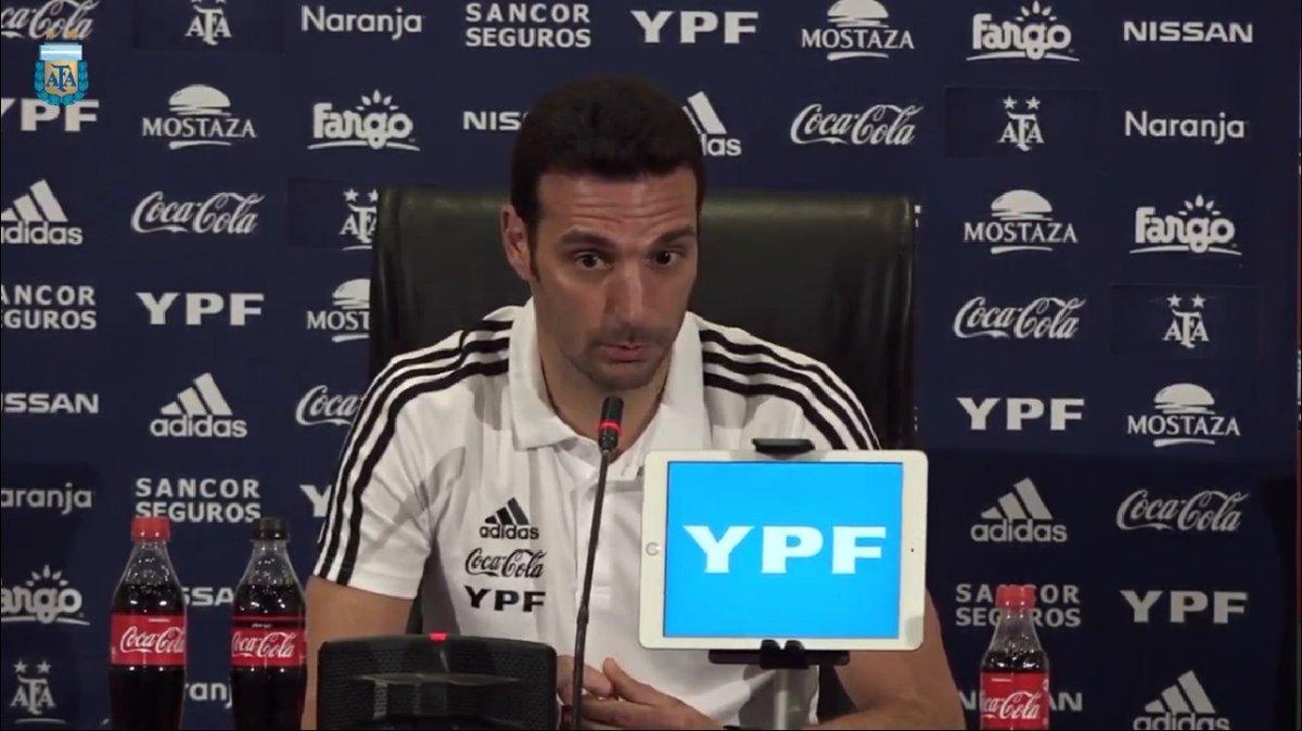 """Lionel Scaloni: """"Tenemos el 80% de la lista para la Copa América"""""""