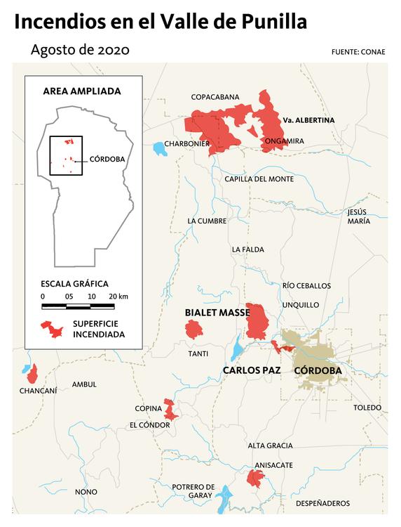 mapa incendios