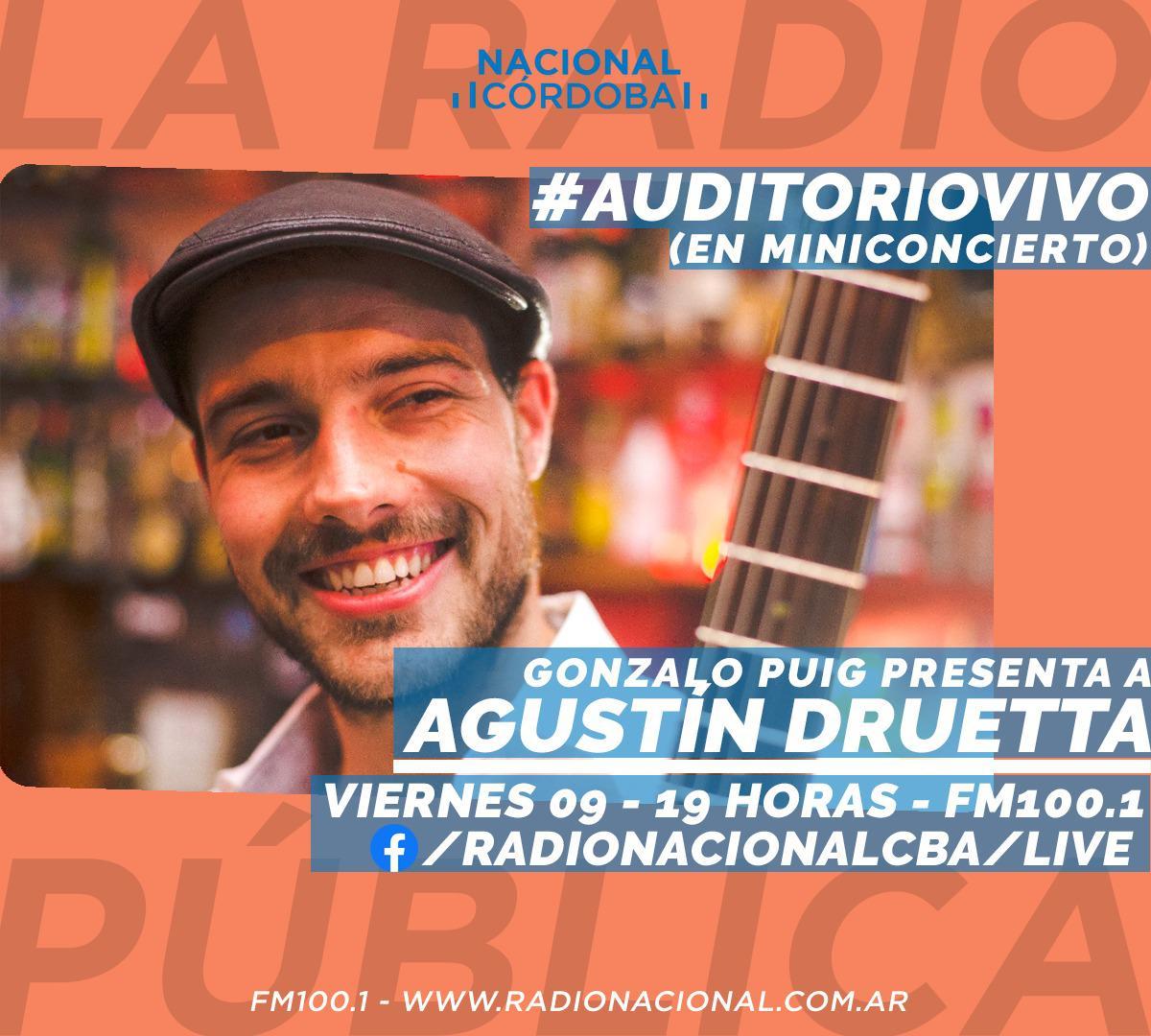 Auditorio Vivo Radio Nacional Agustin Druetta