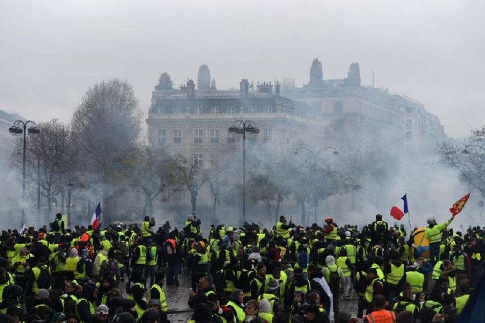 Francia: acatamiento masivo en la huelga contra la reforma jubilatoria