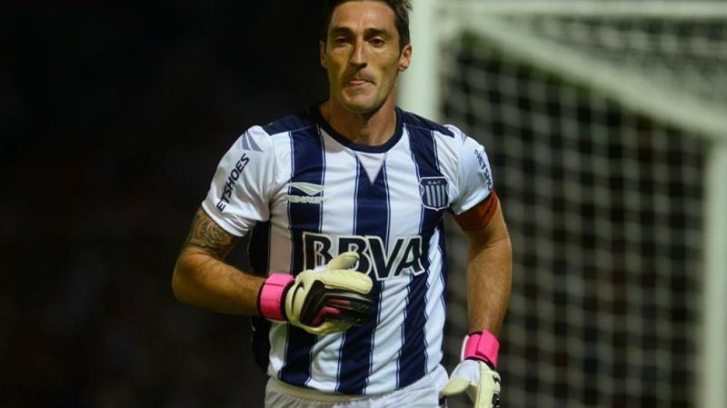 Mauricio Caranta prepara su regreso al arco en Talleres