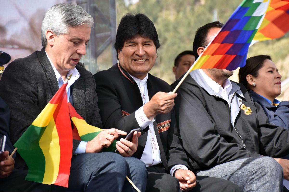 Evo Morales es el primer presidente del mundo en publicar sus cuentas bancarias